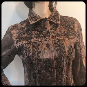 fdd672ce74 Flashback Jackets & Coats | Made In India Embroidered Jacket | Poshmark
